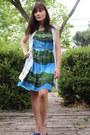 Lace-vintage-vest-suede-clarks-shoes-landscape-print-anthropologie-dress