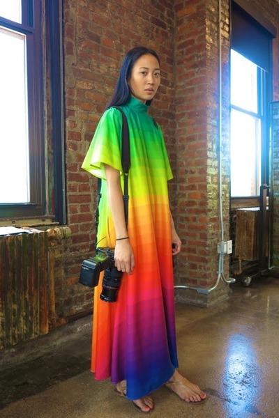 rainbow Dress dress