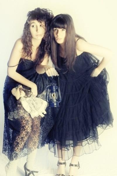 vintage dress - Raven dress