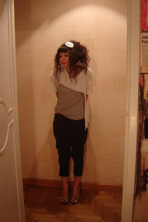 vintage t-shirt - H&amp;M t-shirt - Zara pants - Bon Bon shoes