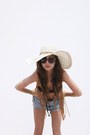 Republic-hat-beyond-retro-shorts-topshop-swimwear-primark-cape