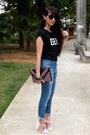 Black-choies-shirt-navy-oasap-pants
