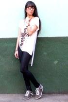 tan Bottero shoes - ivory Pury shirt
