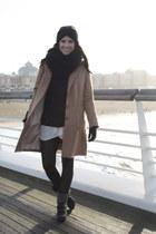 Topshop jumper - H&M Trend coat - sam edelman boots