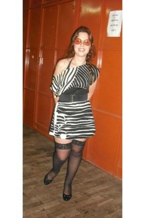 shoes - dress - socks - sunglasses - belt