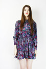 Bird-on-a-wire-vintage-dress