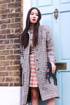 Stunning 70s Vintage Wool Checked Coat