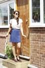 Ruffle-neck-top-bird-on-a-wire-skirt