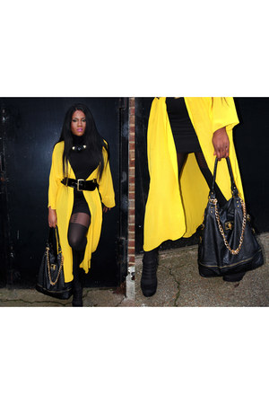 black body con new look dress