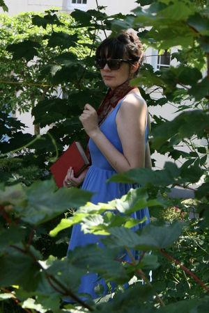 blue American Apparel dress