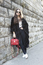Red-zara-shirt-red-31-phillip-lim-bag-black-ray-ban-sunglasses