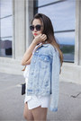 Black-platforms-mango-shoes-sky-blue-denim-topshop-jacket-white-zara-shirt