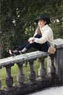 Black-sandals-zara-shoes-black-h-m-jeans-nude-beige-gant-rugger-sweater