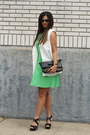 Chartreuse-cotton-dress-new-york-co-dress
