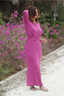 Magenta-asos-dress