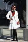 Black-bootie-heels-aska-boots-white-forever-21-blazer