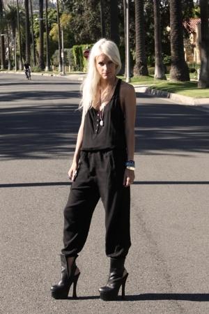 black Zara suit - black  shoes