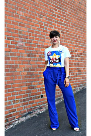 blue Zara pants