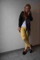 Mango jeans - Alexander McQueen scarf