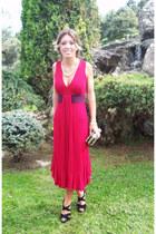Valentino dress - Mekdes purse - Zara necklace - Mango sandals