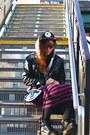 Punk-dr-martens-boots-street-style-mishka-hat-menswear-mishka-hoodie