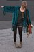 dark khaki java in rust Blowfish boots - teal Girl On A Vine jacket