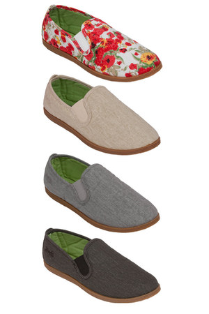 flats cotton Blowfish Shoes flats