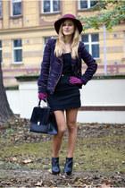 Zara jacket - Mango shoes - lindex bag