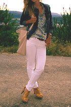 denim Zara jacket - Bata shoes - Mango jeans - Carpisa belt