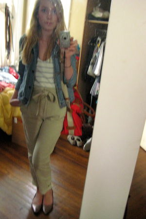 Anthropologie shirt - H&M pants - hollister jacket - Urban Outfitters shoes - do