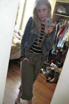 H&M jacket - H&M pants - H&M shirt - Anthropologie necklace