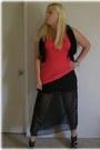 Black-sew-it-yrself-diy-skirt