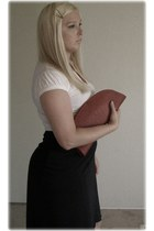 DIY purse - longer back susies deals skirt