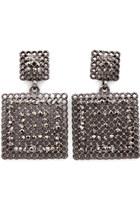 coco gunmetal Blue Vanilla earrings