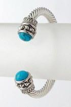 turquoise cuff Blue Vanilla bracelet