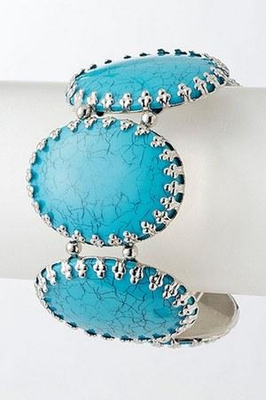 turquoise Blue Vanilla bracelet