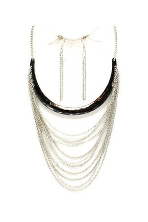 sarah necklace Blue Vanilla necklace