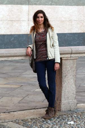Rifle jeans - Isabale Marant jacket - Henrik Vibskov top