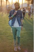 army green jade pants Big Star USA jeans