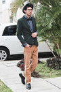 Forest-green-fitted-blazer-yesstyle-blazer