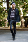 Black-graphic-tee-gypsy-sale-shirt