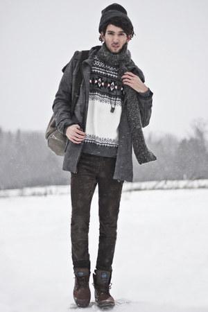 charcoal gray trench coat BangGood jacket