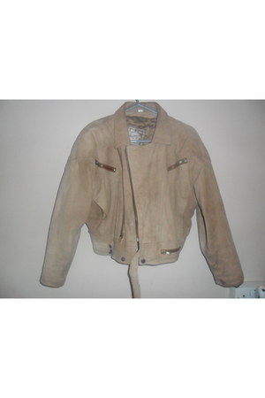 leather jacket vintage jacket