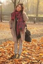 H&M jeans - H&M Trend coat - Alexander Wang bag - Isabel Marant blouse