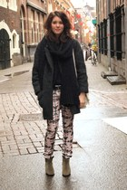 Isabel Marant pants - Isabel Marant coat - H&M jumper