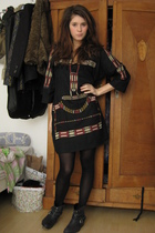 Isabel Marant dress - Topshop boots