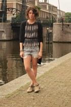 hakei boots - Etoile isabel marant shirt - H&M shorts