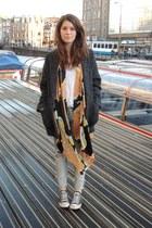 Mango coat - H&M jeans - Winter Kate cardigan