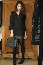 Zara blouse - Zara boots - Zara purse - StyleSofia skirt