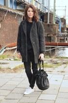 Alexander Wang bag - Isabel Marant coat - Mango jeans